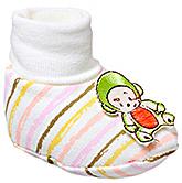 Buy Cute Walk Baby Booties - Pink