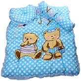 Baby Bed Set - Dotted Bear Print