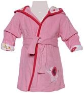 Carters - Bathrobe with Hood And Elephant Print