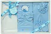 Baby Gift Set - Bear Print Blue