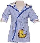 Carters - Bathrobe with Hood And Lion Print