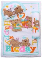 Baby Bed Set - Bear Print