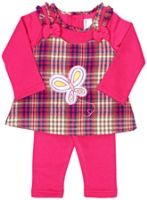 Infancy - Full Sleeves Frock With Leggings