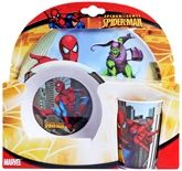 Spiderman - Melamine Set