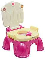 Baby Potty  -  Chair Pattern Baby Potty With An Attractive Design