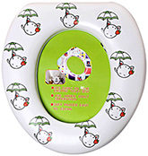 Soft Toilet Trainer Seat - Umbrella Print