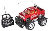 Fab N Funky Detonate Remote Control Car - Red