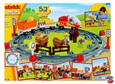 Ecoiffier - Abrick Train Play Set