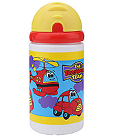 Buy Littles Sipper Bottle The Transporter Team Yellow 400 ml