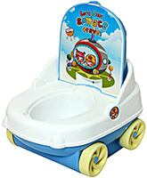 Fab N Funky Baby Potty Car Pattern