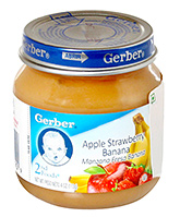Gerber® Apple Strawberry Banana