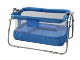 Mee Mee - Blue Baby Cradle 