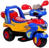 Mee Mee - Yellow Blue Red Baby Bike Lets Go For A Ride