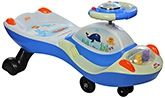 Buy BSA Toddler Slidor Swing Car - Blue