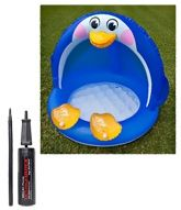 Intex Penguine Bay pool with Intex - Mini Air Pump (Pack of 2)