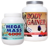 James Vanilla Flavor Body Gainer with Mega Mass Gold 4000
