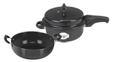 Varun - Deep Pressure Pan with Kadai