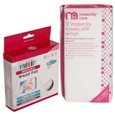 Combo pack of Maternity Pads &amp; Breast Pad (Pack of 2)