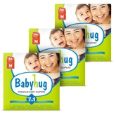 Baby Hug - 7 In 1 Premium Baby Diapers Medium, 6 -11 Kg, 36 Pieces (Combo Pack Of 3)