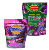 Sunsweet Pitted Prunes with Del Monte Premium Pitted California Prunes