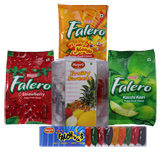 Mapro Falero (Strawberry,Kacchi Kairi & Django Mango) with Falchoose & Fruity sweets