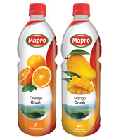 Mapro Mango Crush with Mapro Orange Crush