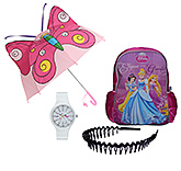 Disney Backpack with Wrist Watch,Umbrella & Hair Band