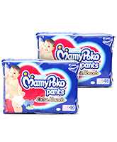 Mamy Poko Extra Absorb Pant Style Diaper Extra Large - 46 Pieces - Pack of 2