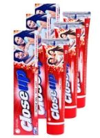 Close Up Active Gel Red Hot Toothpaste (Pack of 3)