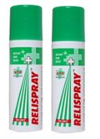 Relispray Instant Pain Relief Spray (Pack of 2)