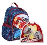 Disney Pixar Cars Bag with Disney - High School Musical Speakers (Set of 2)