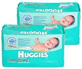 Huggies - New Born Upto 4 Kg, 24 Pieces (Combo Pack of 2)