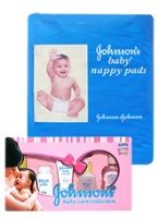 Johnson & Johnson Baby Diaper with  Baby Care Collection Combo (Set of 2)