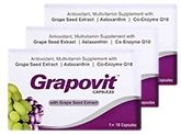La Nutraceuticals Grapovit Capsules (3 Strips of 10 Capsules Each)