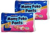 Mamy Poko Pants S (4 - 8 Kg), 48 Pieces (Combo Pack of 2)