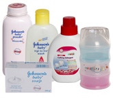 Baby Cleansing and Skin Care Combo (Set of 5)