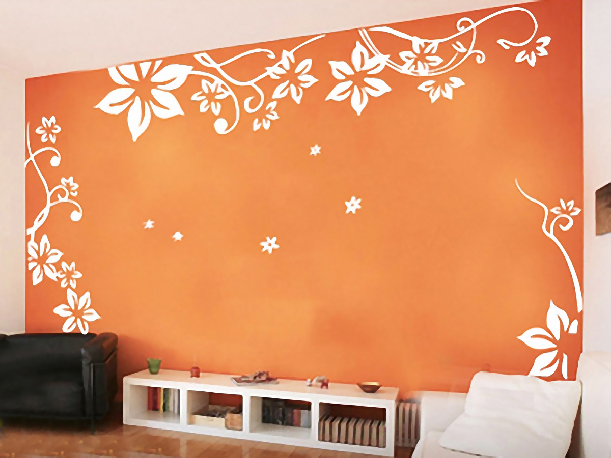 Adhesive for wall decals
