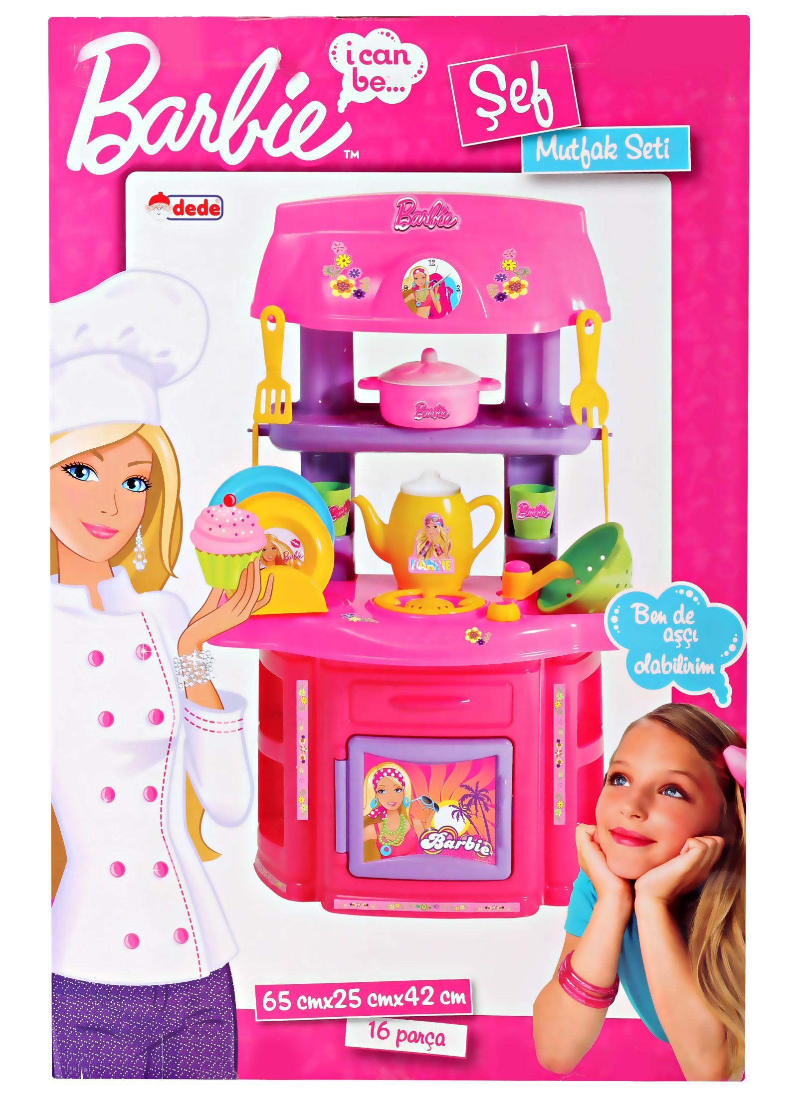 Barbie doll kitchen set online shopping india for Barbie kitchen set 90s