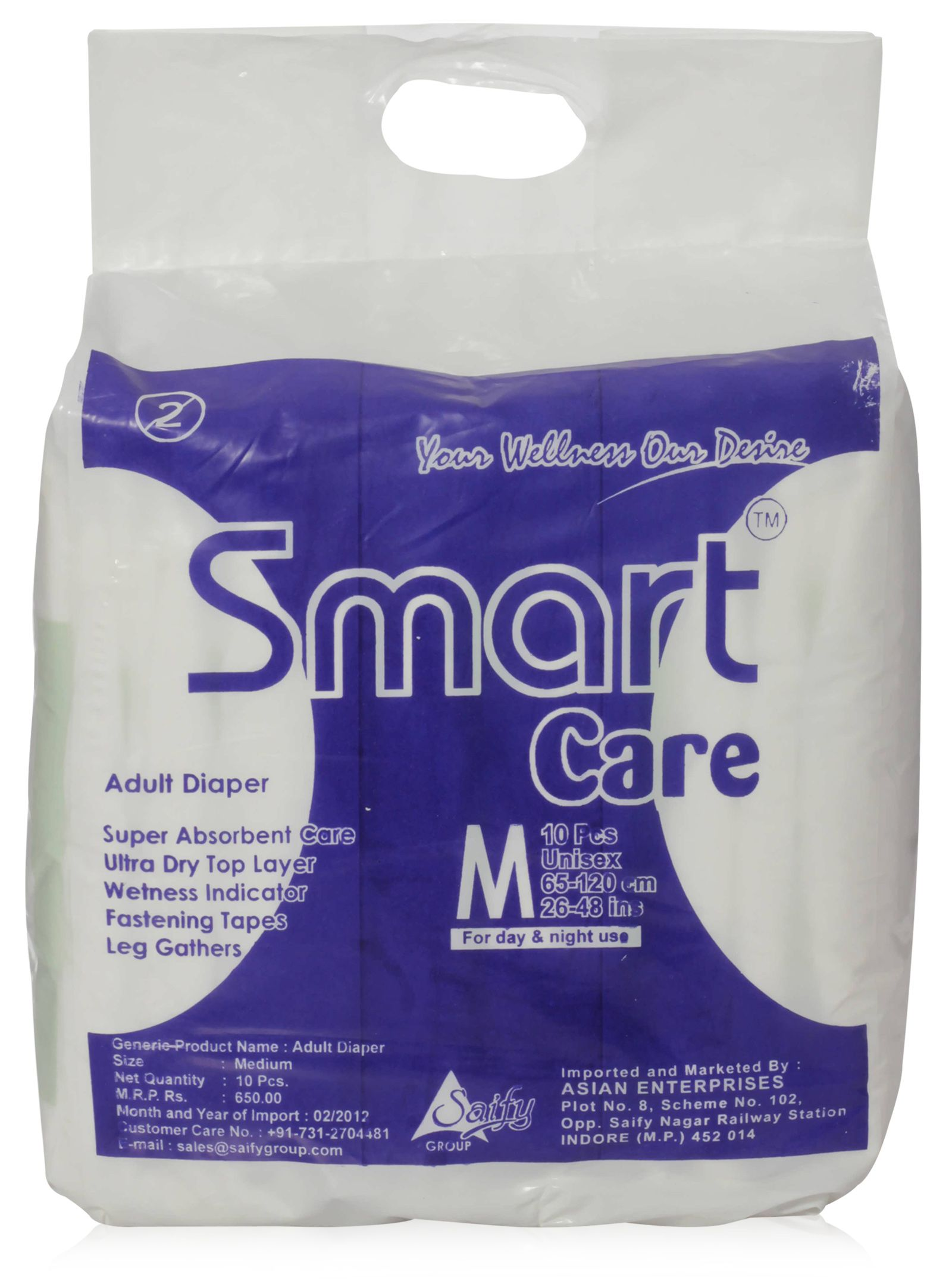 110540a Economy Stay Dry Ultra Adult Diaper Incontinence Briefs (Breathable)