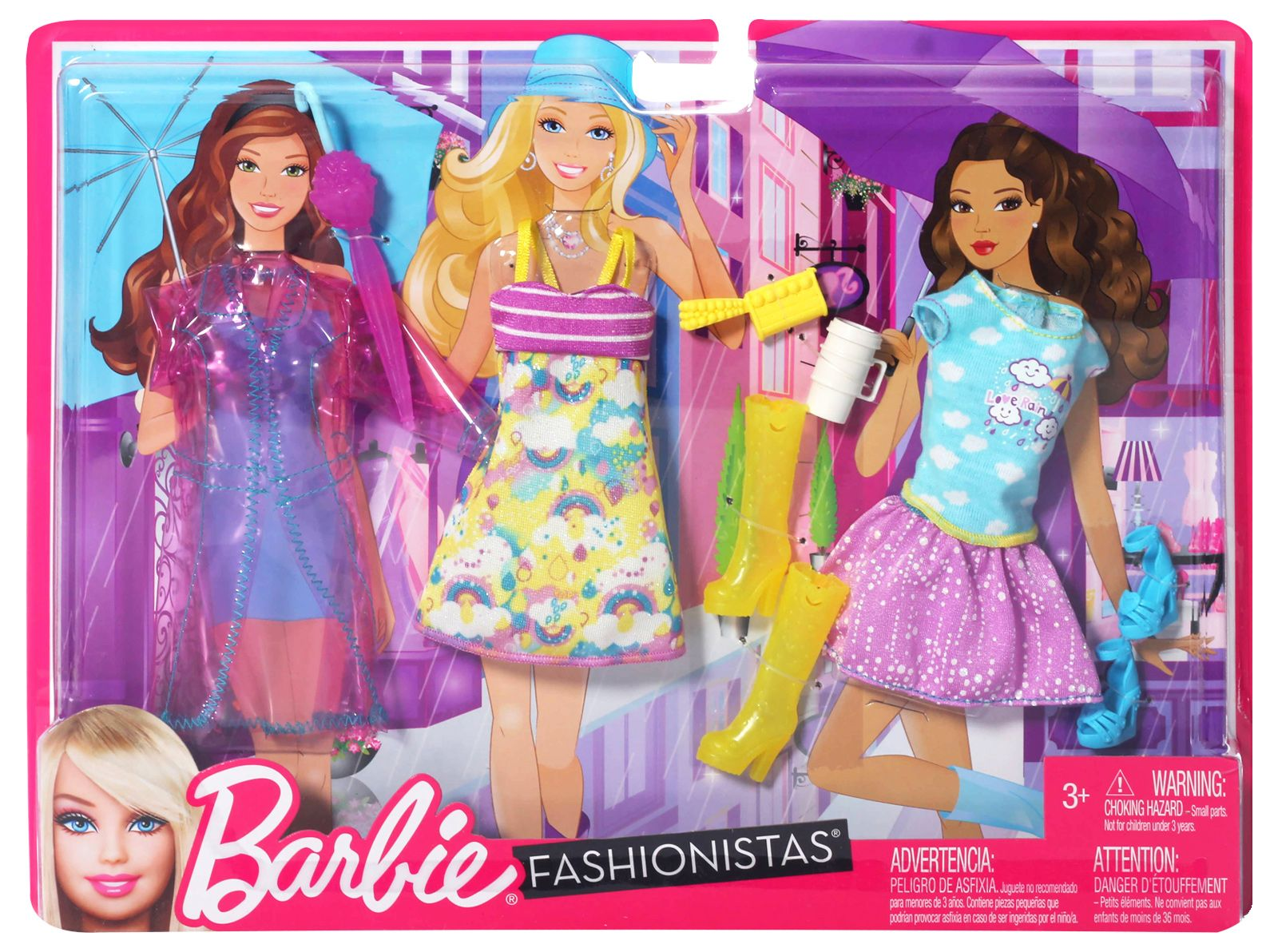 Barbie Doll Clothes Fashion N7480 Candy Theme Party Outfit with T