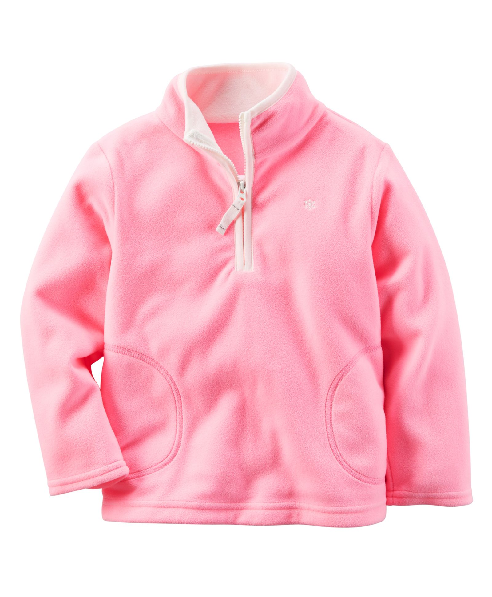 11 MINUTES @ 11 PM : 100% Cashback* on Entire Fashion Range By FirstCry | Carter's Full Sleeves Sweat Jacket - Pink @ Rs.909.30