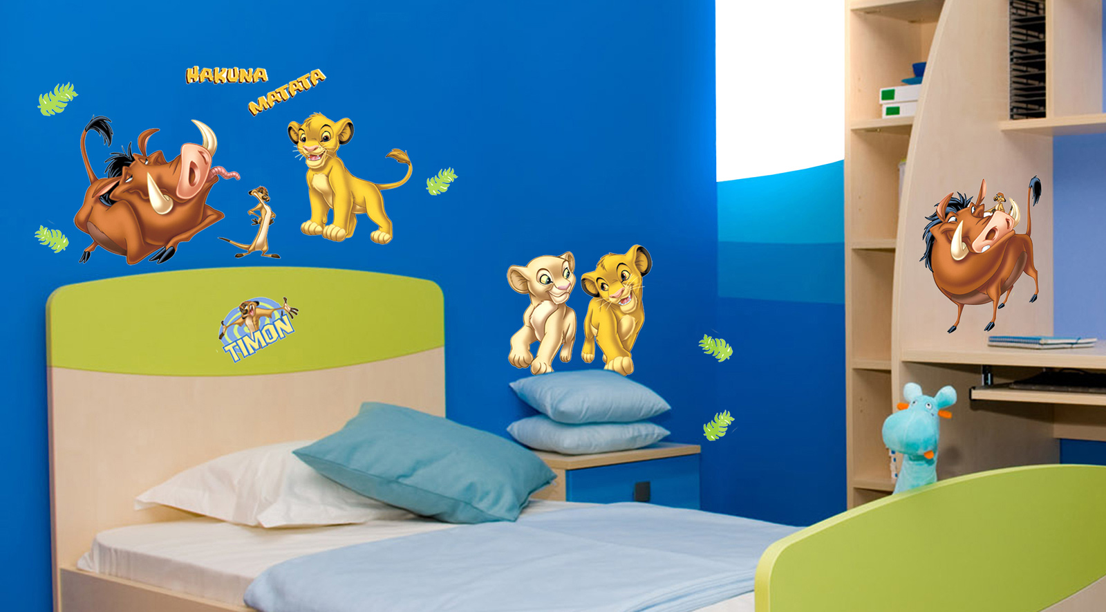 decofun disney the lion king wall stickers price in india 21 may 2018 compare decofun disney. Black Bedroom Furniture Sets. Home Design Ideas