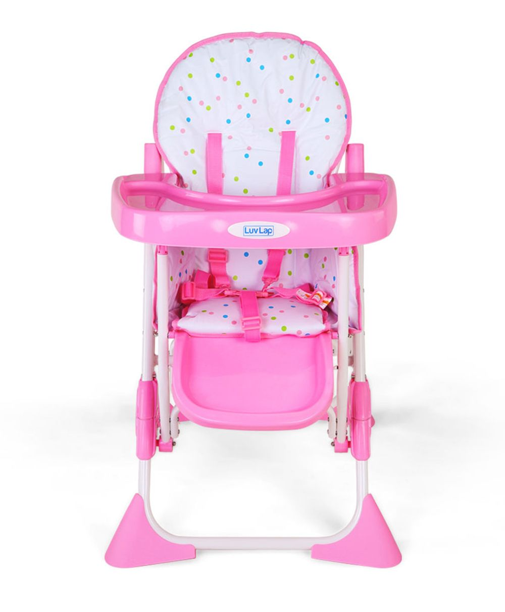 Luv Lap Baby Comfy High Chair (Pink)