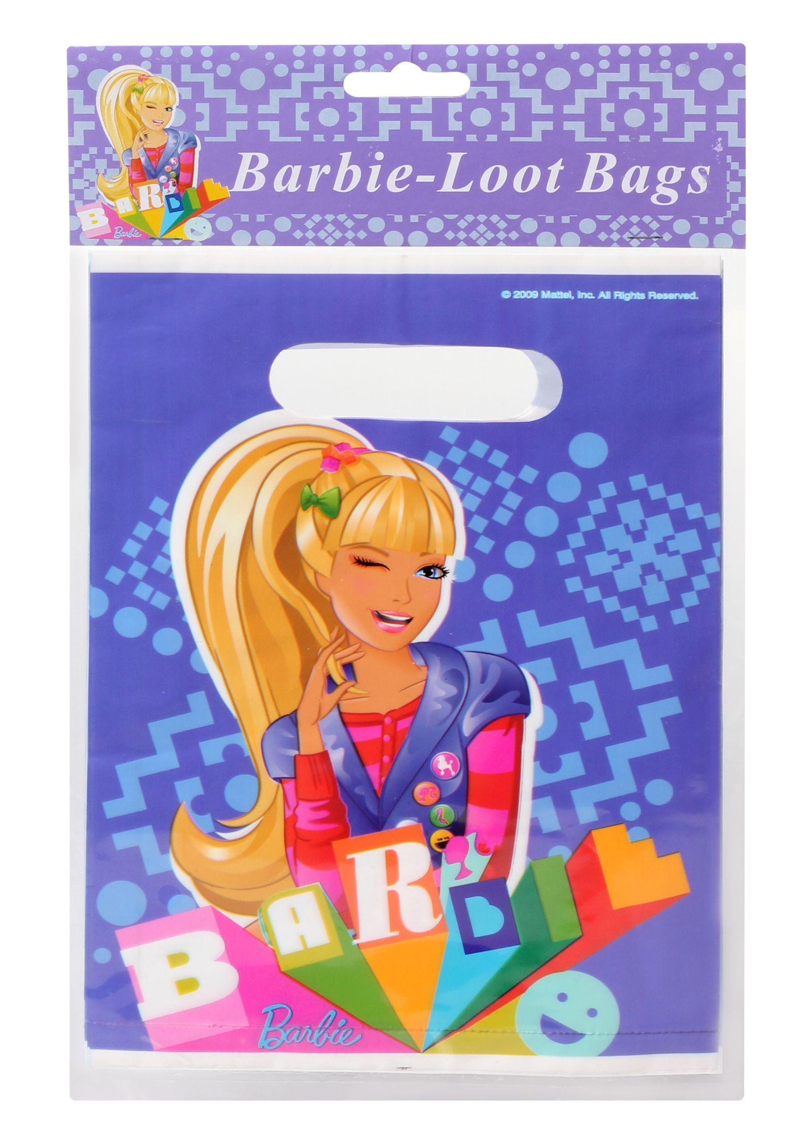 Barbie Loot Bags