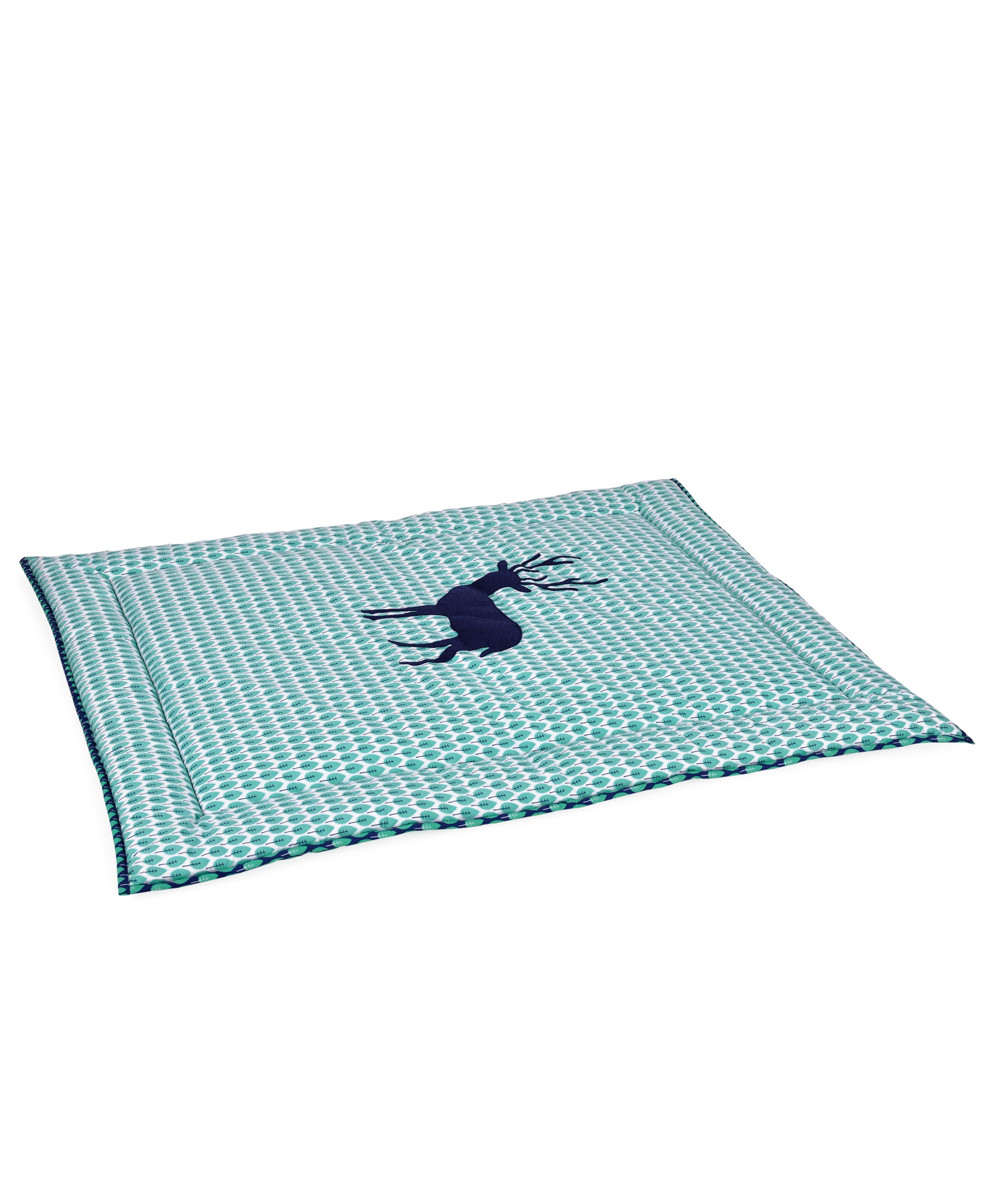 Taftan European Brand 5 layer Padded Play Mat Deer Blue