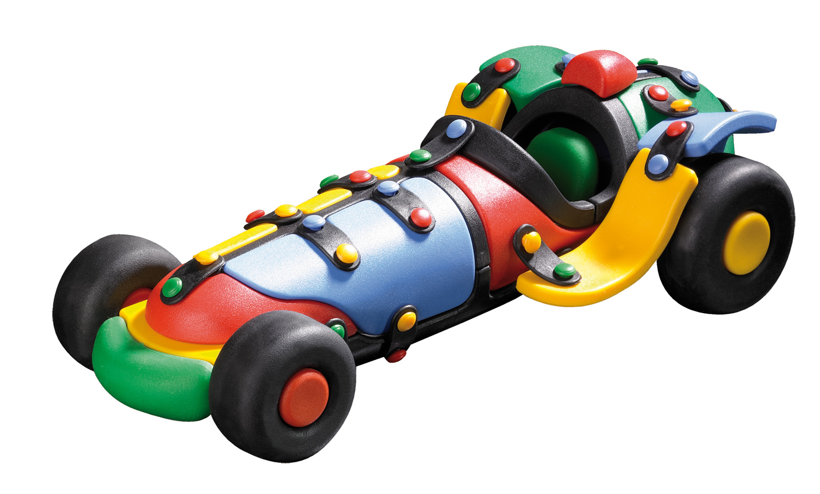 Mic O Mic Racing Car - Plastic Toy