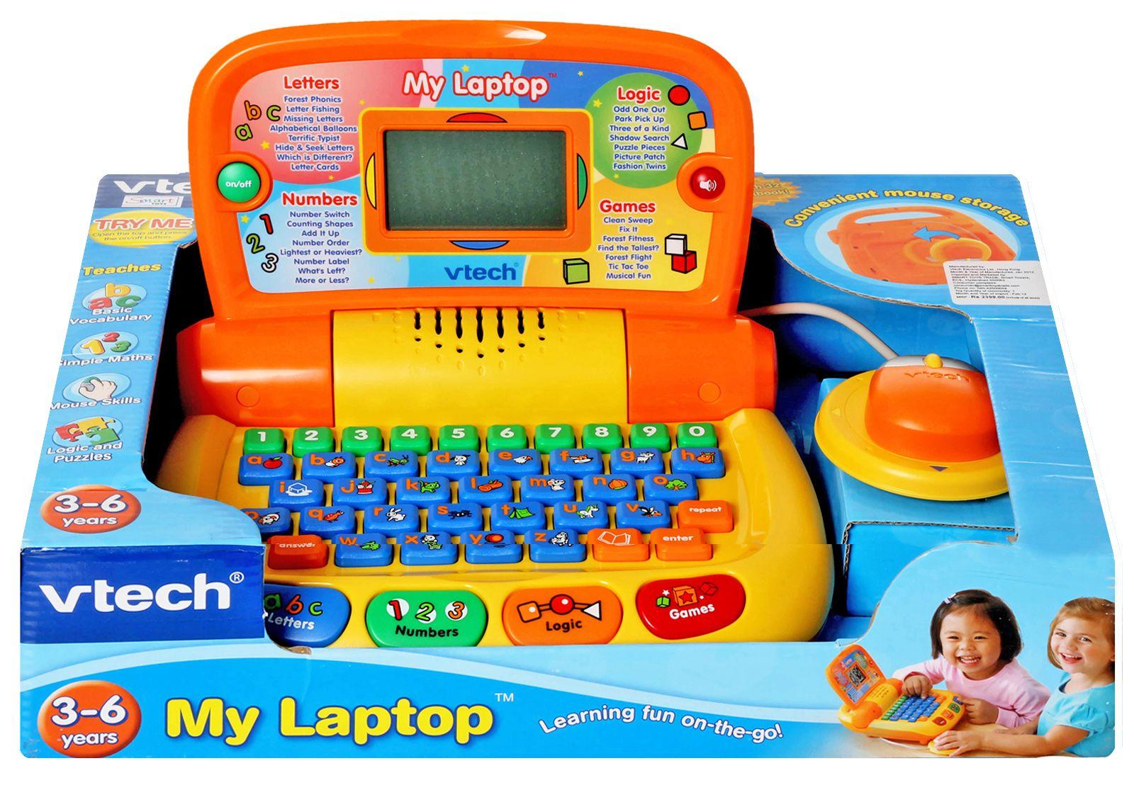 Vtech My Laptop Shopping Club