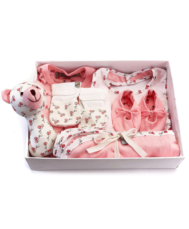 Mi Dulce An'ya Organic Cotton Gift Set Pack of 6 - Pink