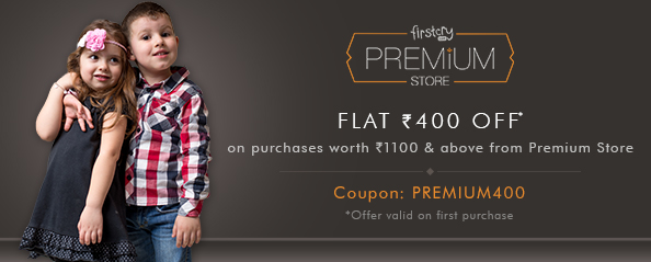 firstcry.com - Flat ₹400 discount on Premium products