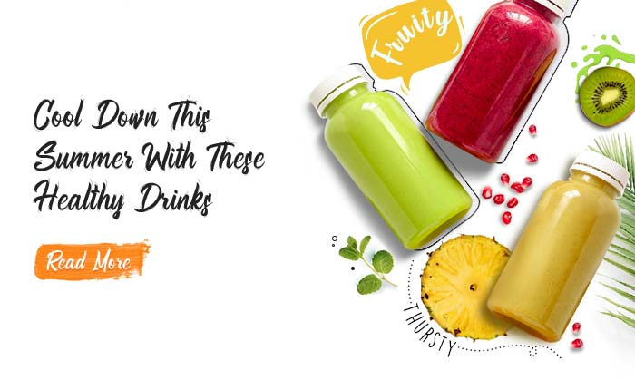 Cool Down This Summer With These Healthy Drinks